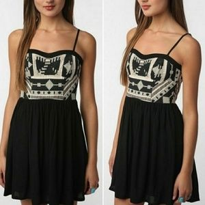 Urban Outfitters Staring At Stars Black Dress S 4